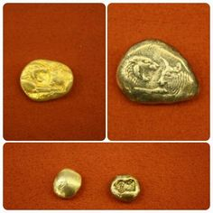 The Lydian Stater was the official coin of the Lydian Empire, which was introduced before the kingdom fell to the Persian Empire. The earliest staters are believed to date to around the second half of the 7th century BCE, during the reign of King Alyattes (r. 619-560 BCE). According to a consensus of numismatic historians, the Lydian stater was the first coin officially issued by a government in world history and was the model for virtually all subsequent coinage. (Info by Everett Milkman)…