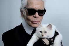Karl Lagerfeld's latest collection inspired by his cat