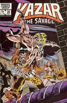 Ka-Zar, The Savage # 20 by Ron Frenz & Armando Gil