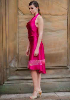 Tango Dance Skirt Madame Sofia - The Gift Of Dance - Handcrafted Dance Apparel