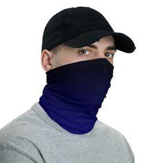 Gradient Starry Night Background Neck Gaiter Dust Sun Protection Face Cover Balaclava Sports Headwear Works As Scarf Headband Bandana Face Mask