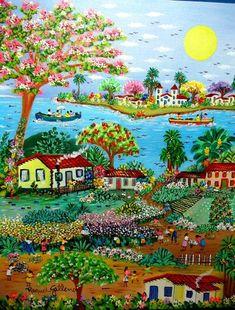 Arte Naif (©2011 artmajeur.com/ajursp) AJUR SP VENDEDOR E DIVULGADOR DA ARTE…