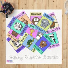 Are you or someone you know an animal lover? Purchase today and the DIGITAL PDF file is INSTANTLY available for you to download and print.  Included are 12 printables from 1 month to 12 months to enjoy Prop these cards next to your bundle of joy and take a snapshot. Dont forget to use our hashtag #TNBbaby when you share it online.  Each card is made from contrasting colours and includes 12 different animal pictures.  Did you know we also have other milestones for your baby? These include fun…