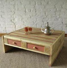 mesa de centro com gaveta