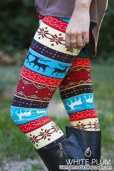 Desenli Tayt Modelleri #leggings #tights