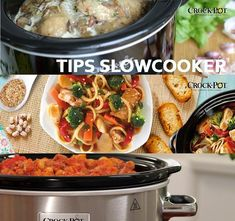 TIPS SLOWCOOKER - A Slow Cooker was developed to achieve the same results as it used to be, when dishes were simmered - Slow Food, Slow Cooking, Healthy Slow Cooker, Healthy Crockpot Recipes, Slow Cooker Recipes, Calories In Vegetables, Green Bean Recipes, Multicooker, Cajun Recipes