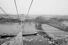 Le pont Pierre-Laporte en 1970