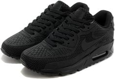 All black Nike Air Max 90  dda25b37a
