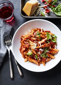 Instant Pot Pasta with Tomato, Basil and Mozzarella Waldorf Chicken Salad, Cottage Meals, Cold Sandwiches, Carnitas Recipe, Fast And Slow, Vegetarian Dinners, Orange Recipes, Tomato Basil, Awesome Food