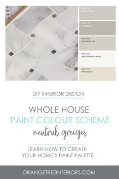 Are you looking to freshen up your home with a fresh coat of paint? Not sure what colours to choose? Learn all the tricks you need to know to pick the perfect paint palette with this online decorating course. Best Paint Colors, Paint Colors For Home, Paint Colours, King Painting, House Painting, Minimalist Interior, Modern Minimalist, Minimalist Bedroom, Farmhouse Light Fixtures