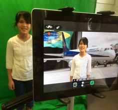 Check out how these 6th graders did some global storytelling with a green screen and iPads, app-smashing Tellagami along the way.