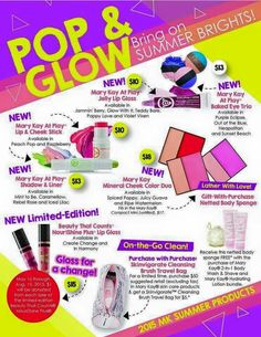MK Summer Line  try it out. Book your party  with me! www.marykay.com/jypadgitt Jennifer 214.734.5562