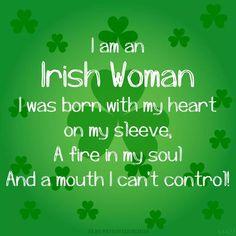 I am a Irish woman Irish Prayer, Irish Blessing, Irish Jokes, Irish Humor, Immigration Quebec, Irish Toasts, Native American Quotes, American Symbols, American Indians