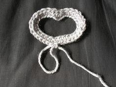mp.croche: Coração vazado em croche