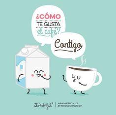 Café sólo o contigo