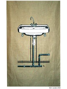 Mon lavabo. 2002 Stencil Graffiti, Stencils, Artworks, Street Art, Sink, Home Decor, Trough Sink, Sink Tops, Homemade Home Decor