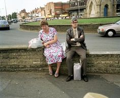 Martin Parr. Bored Couples