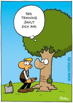 Training zahlt sich aus...
