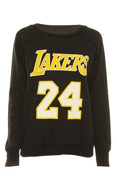 a6fe5678c Cara Lakers 24 Sweater at ikrush. Lakers JacketLakers ShirtDodgers ...