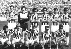La Juve de Platini, Scirea, Tacconi, Cabrini, Boniek, Rossi, Tardelli