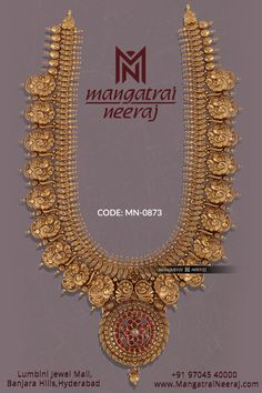 Gold Bridal Jewellery Sets, Gold Temple Jewellery, Gold Jewelry, Gold Necklace, Antique Jewellery Designs, Antique Jewelry, Gold Haram Designs, Siri, Lehenga