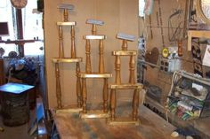 Trophies by Wheaties  -  Bruce A Wheatcroft   ( BAW Woodworking)