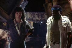 Sigourney Weaver and Yaphet Kotto in Alien (1979)