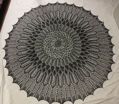 This is my first lace design project. Inspired by Pandosu's Evenstar Shawl, this is a pi type circular shawl. To assist in the design process, I have purchased IntwinedStudio design software. I have plotted my charts and have knitted the initial increase rounds. The initial chart suggests the gothic arches of the Brooklyn Bridge. The second chart is loosely based on the Victorian homes of Harlem. The third is based on the trees of Central Park and includes plenty of nupps. The forth…
