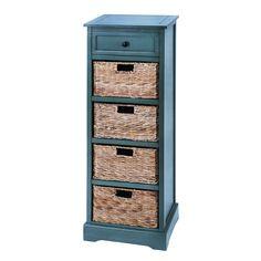 WD 4 Basket Cabinet 45-inch Light