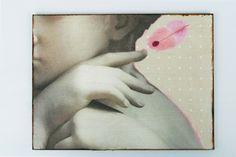 NovemberRemember Kunstdruck Holztafel von Atelier Art-istique auf DaWanda.com
