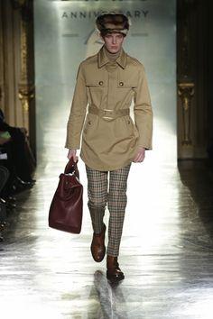 Milan Fashion Week - DAKS Fall/Winter 2014/15 - 120th Anniversary - http://olschis-world.de/  #DAKS #Menswear #FashionWeek