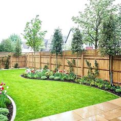 Image result for large backyard gardens