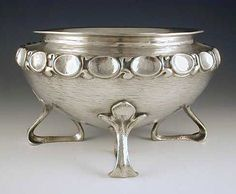 Oliver Baker for Liberty & Co Pewter Bowl - Arts & Crafs