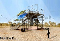 Výroba a stavba lanových center, parků a hřišť | Unipark