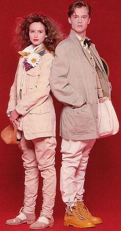 80s Fashion, Pink Fashion, Vintage Fashion, Fashion Outfits, Fashion Artwork, Pink Houses, Kid Styles, Vintage Photography, Pink Girl