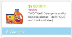 *HOT* Tide Simply Clean & Fresh Detergent ONLY $2 Per Bottle! - Raining Hot Coupons