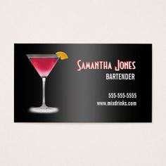 Whiskey liquor store brushed stainless steel metal business card martini bartender business card colourmoves