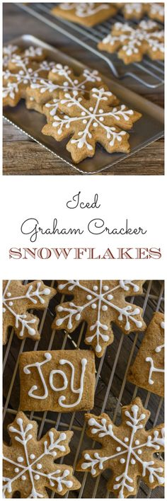 Graham cracker cut outs that are perfect for decorating with the kiddos!