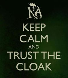 TRUST YOUR CLOAK