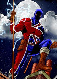 Union Jack Superhero!?