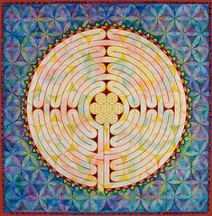 C. Gilchrist: Sacred Geometry: Mandalas: The Chartres Cathedral Labyrinth
