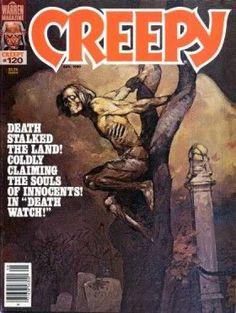 Death - Fear - Warren Magazine - American Horror - Cemetary
