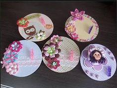 Karen Artesanatos manuais: Reciclagem com cd
