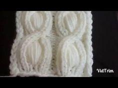 türkçe anlatımlı fıstıklı burgu modeli anlatımı Cable Knitting, Knitting Videos, Knitting Stitches, Hand Knitting, Arm Crocheting, Stitch Patterns, Knitting Patterns, Knitted Baby Clothes, Hand Weaving