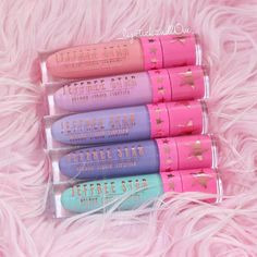 Gorgeous Pastel Spring Colored Jeffree Star Liquid Lipsticks  @_lipstickandl0ve ♡♥♡♥♡♥