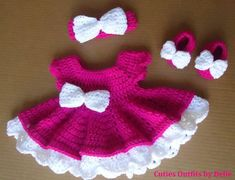 fe17d2b97f10 Crochet Baby Dress Take Home Baby Outfit Coming Home Dress | Etsy Outfits  För Små Barn