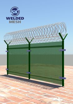 Concertina #wire is a type of barbed wire that is formed in large coils which can be expanded like a #concertina! concertina wire is a powerful choice for prison, military, and boundary security.#SKweldedmesh is reputed #Leading #manufacturers and suppliers of a wide range of Security #Fencing Wires, concertina coils, concertina wire, barbed wire, razor blade wire and Our range is widely appreciated for various features more details visit our website or contact us Metal Garden Fencing, Mesh Fencing, House Gate Design, Door Gate Design, Welded Wire Fence, Barbed Wire, Brick Fence, Concrete Fence, Concertina Wire