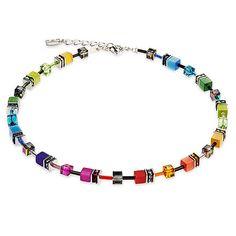 Signature Cube Necklace | Coeur De Lion Jewelry | Multi