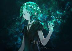 Anime Houseki no Kuni Phosphophyllite (Houseki no Kuni) Wallpaper Manga Anime, Anime Art, Nouveau Manga, Tokyo Ghoul Pictures, Fan Art, Animation, Cosplay, Me Me Me Anime, Yandere