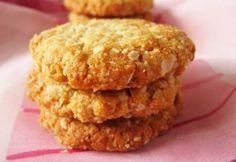 Puliszka receptek Healthy Cookie Recipes, Healthy Cookies, Healthy Sweets, Muesli, Biscotti, Muffin, Food And Drink, Treats, Baking